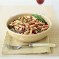 Penne with Pancetta and Tomato-Cream Sauce
