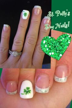 St Patricks Day Nail Designs