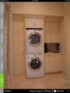 Best 20 Laundry Room Makeovers - Organization and Home Decor Laundry room decor Small laundry room organization Laundry closet ideas Laundry room storage Stackable washer dryer laundry room Small laundry room makeover A Budget Sink Load Clothes Laundry Dryer, Laundry Closet, Laundry Room Organization, Basement Laundry, Laundry Hanger, Laundry Baskets, Laundry Storage, Small Laundry Rooms, Laundry Room Design
