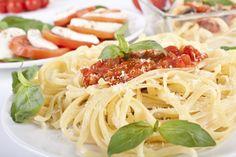 Turri's Tomato & Basil Sauce #Entree #Tomato #Basil #Sauce #Linguine