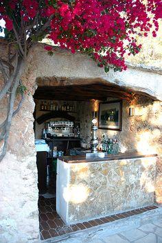 Sa Capella, classic Ibiza restaurant housed in an ancient monastery