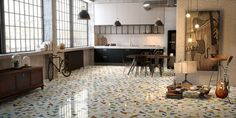 E' di Lithos Design il primo intarsio in marmo in versione industrial design: Opus è l'innovativa collezione di rivestimenti in marmo ready-to-use.