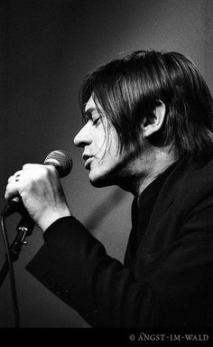Blixa Bargeld Music Is Life, My Music, The Bad Seed, Nick Cave, New Romantics, Lovely Creatures, Music Icon, Post Punk, No One Loves Me
