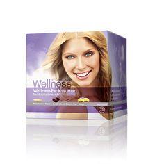 Πολυβιταμίνη/Ιχθυέλαια/Ασταξανθίνη  Wellness Pack για Γυναίκες