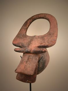 Mask : Bush cow, Mama, northern Nigeria