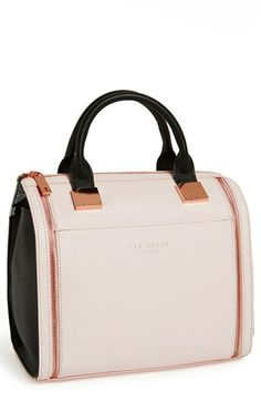 968104805437f6 Ted Baker London Leather Satchel available at  Nordstrom Leather Satchel  Handbags