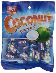 Chun Guang Coconut Candy, Ounce Tasty candy from China Chocolate Rocks, Chocolate Babies, Melting Chocolate, Coconut Candy, Thai Restaurant, Chocolate Bouquet, Caramels, Top Trending, Favorite Candy