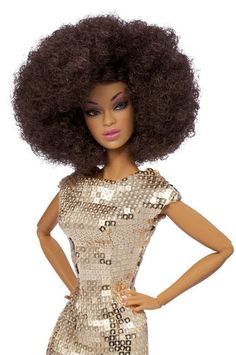 Sequin & Afro.  Not that's hot!
