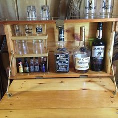 Ammo Box Wall Mount Bar by JGsDecorMore on Etsy