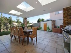 Outdoor living design with bbq area from a real Australian home - Outdoor Living photo 487472