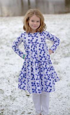 Keria's Knit Dress PDF Pattern Sizes 6/12m to by CreateKidsCouture, $8.00