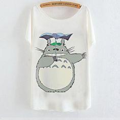 My Neighbor Totoro Casual T-shirt Women