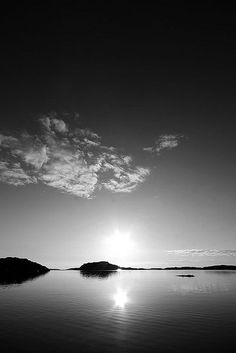 Sunset in Sweden.