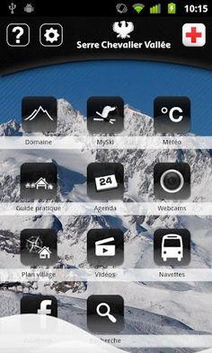 Applications smartphone Serre Chevalier - C'est gratuit !   Free apps in winter and summer for Serre Chevalier resort  Sur android : https://market.android.com/details?id=com.lumiplan.montagne.SerreChevalier  sur Iphone, Ipod :http://itunes.apple.com/fr/app/serre-chevalier/id344345789