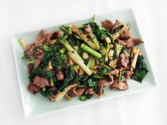 Stir-Fried Beef With Kale and Frisée in Black Bean Sauce | Serious Eats : Recipes
