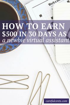 VIDEO: Learn how to become a paid virtual assistant in 30 days or less. Plus, get a free copy of my Summary of Services template!