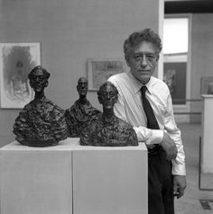 Alberto Giacometti, Veneza, Itália – 1962. (Archivio Cameraphoto Epoche/Getty Images)