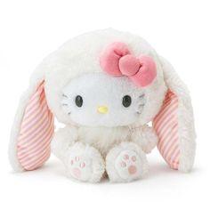 1a80f741d #hellokitty #bunny #plush #doll Japanese Plushies, Stuffed Animal Cat, Cute
