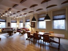 Tribeca Loft - Dining and Living Areas, 2Michaels | Remodelista Architect / Designer Directory