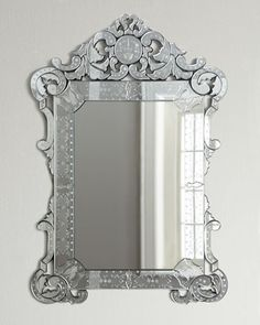 Horchow Venetian Style Mirror.  Check out entire site, they have some STUNNING mirrors including mirrors with jewelry storage.