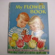 My Flower Book, Rand McNally Giant Book, 1961