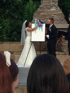 My unity painting Wedding Props, Wedding Advice, Wedding Unity Ideas, Wedding Bells, Wedding Planning, Cottage Wedding, Home Wedding, Dream Wedding, Love Birds Wedding