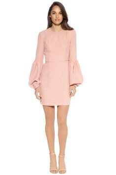 Hire Rebecca Vallance - Ambrosia Mini Dress - Clay for a fraction of the retail price for an upcoming birthday party. Dress Hire, Rachel Mcadams, Daily Fashion, Cold Shoulder Dress, Topshop, Dressing, Peach, Dresses For Work, Clay