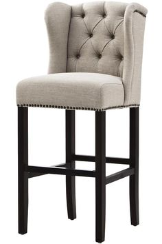 Wingback Barstool Our Favorite Home Staging Finds At Your Fingertip