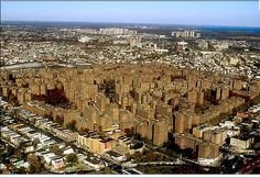 Aerial View of Parkchester ~ Bronx, New York