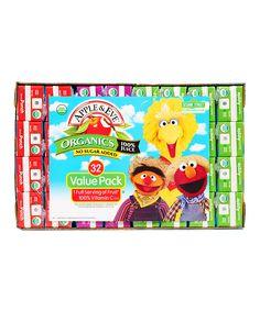 Apple & Eve 32-Ct. Sesame Street Organics 100% Juice Variety Pack