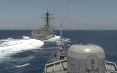 Пентагон обвинил российский корабль вопасных маневрах вСредиземном море.  Российский корабль прошел нарасстоянии 288 метров отамериканского эсминца «Грейвли», атакже нарасстоянии 9км отавианосца «Гарри Трумэн» вСредиземном море, совершив тем самым �