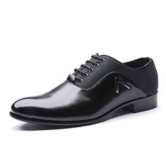 Fashion Men/'s Lace UP Pointed Patent Leather Wedding Dress Floral New Shoes ADE