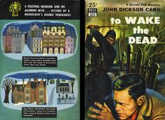 Dell Books 635 - John Dickson Carr - To Wake the Dead (with mapback)