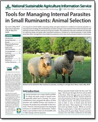 animal selection for parasite resistance  #goatvet likes this and uses it in her FAMACHA courses