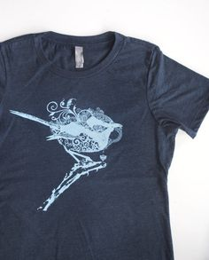 Hey, I found this really awesome Etsy listing at https://www.etsy.com/listing/229890831/fairy-wren-in-sky-blue-on-a-heathered