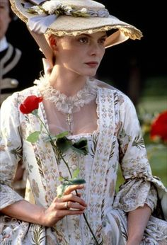 Michelle Pfeiffer as Madame de Tourvel in Dangerous Liaisons (1988).
