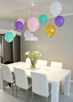 ilmapallot3 Birthday, Party, Kids, Home Decor, Young Children, Birthdays, Boys, Decoration Home, Room Decor
