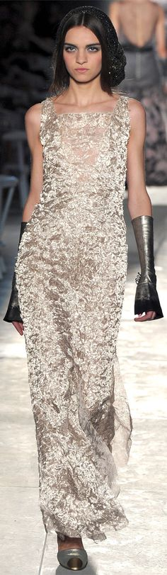 ✜ Chanel | Paris | Winter 2013 ✜ http://www.vogue.it/en/shows/show/haute-couture-fall-winter-2012/chanel