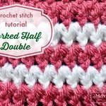 Crochet Stitch Photo Tutorial - Forked Half Double Crochet