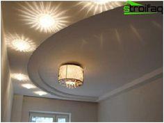 Zaujímavým riešením konštrukcie s neobvyklým osvetlenia v spálni