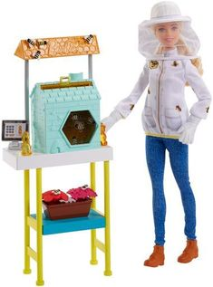 Barbie Beekeeper Doll 2018 with play bees FRM17 Playset Sold out