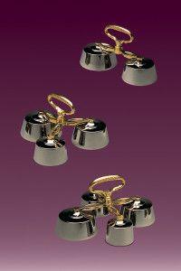 Dzwonki kościelne mosiężne dostępne na: http://www.sacrum.com.pl/oferta/dzwonki-koscielne/