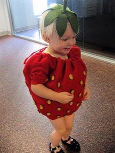 little strawberry costume (made, made blog, dana made it, dana-made-it.com, dana willard)