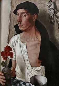 Dick Ket (1902 -1940) was een Nederlandse kunstschilder. Aanvankelijk maakte Ket in een impressionistische stijl landschappen en stillevens, met brede penseelstreek en paletmes. Rond 1930, veranderde hij van stijl, hij ging naar een meer magisch-realistische schilderstijl. Het ging hem als kunstenaar niet alleen om de natuurgetrouwe weergave. Zijn koele, objectieve benadering staat in dienst van de gedachte dat ook aan dode voorwerpen in het schilderij bezieling toegedicht kan worden.