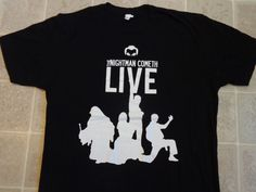 THE NIGHTMAN COMETH Live Tour T-SHIRT Mens LG Official Its Always Sunny Philly