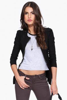 Dutchess Jacket in Black | Necessary Clothing