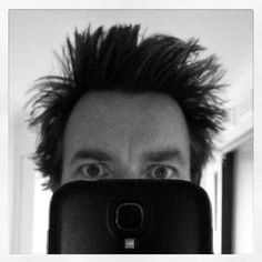 Having a bad hair day? | 22 Steps To Tranquility As Told By Ewan McGregor's Instagram