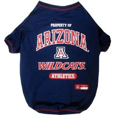 Shop where every purchase helps shelter pets! Arizona Wildcats Pet T-Shirt - from $17.85