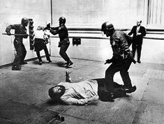 May 1971, San Francisco police work over some demonstrators. Protesting in San Francisco, why I am shocked!