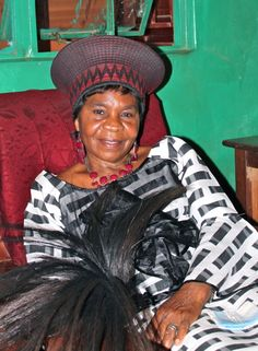 Chieftainess  Nkomeshya of the Soli People